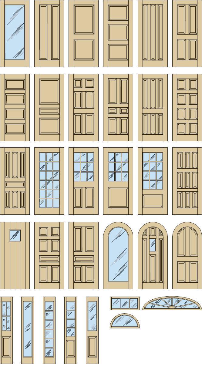 Custom Doors Sidelites Transoms Somerset Door