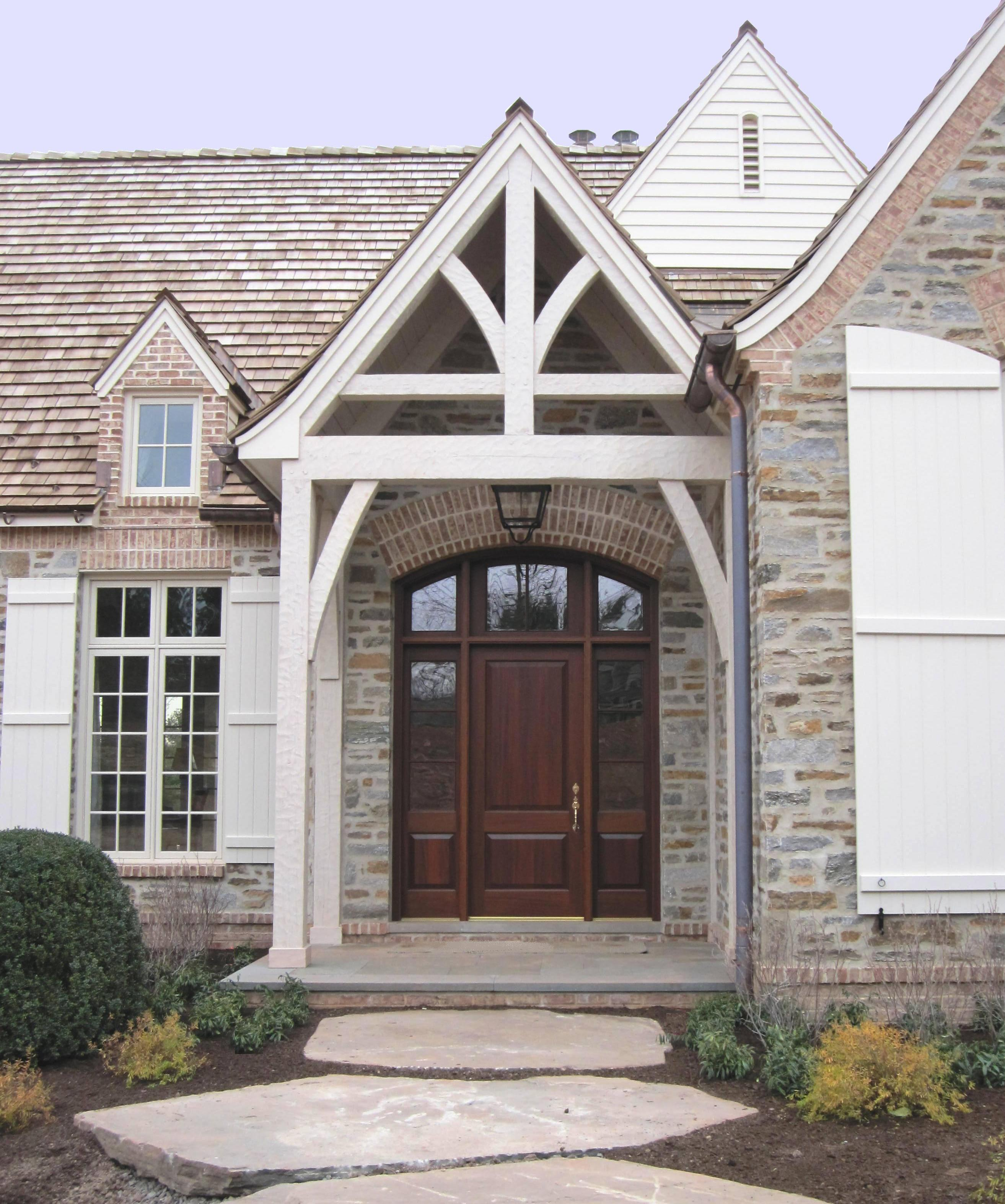 Entryways doorways interior decorating for Custom exterior doors