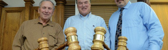 Gavels crafted for U.S. Congressman